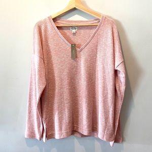 J. Crew Vintage Fleece NWT Pullover Sweater